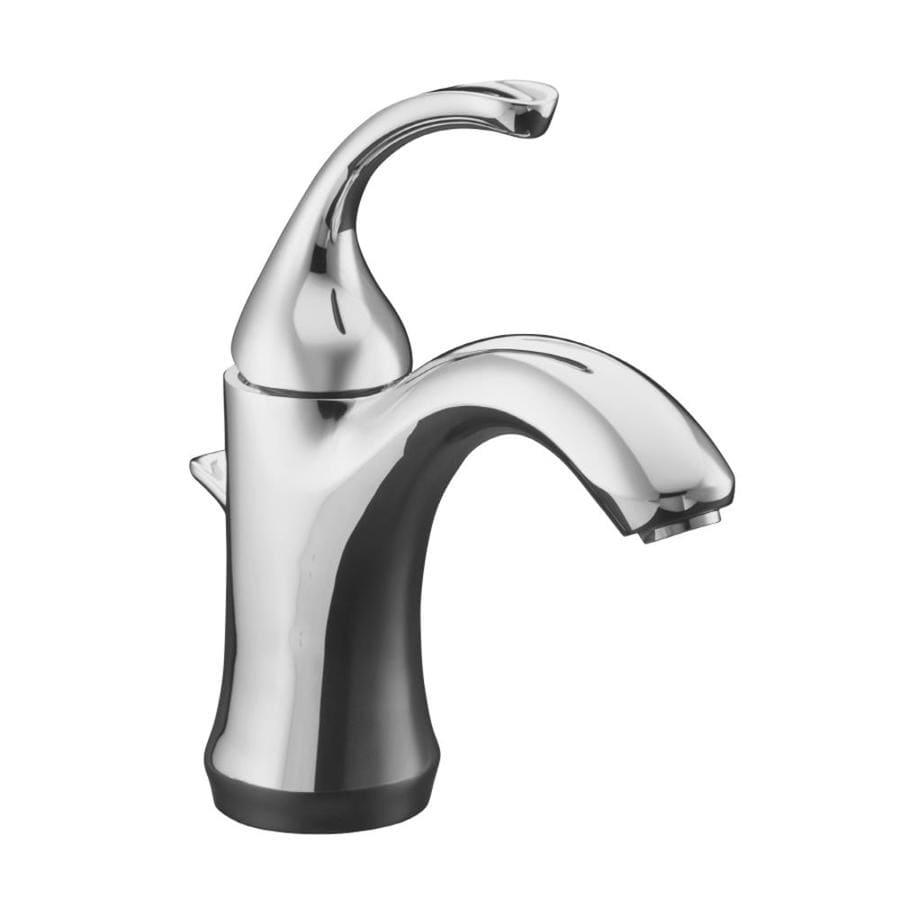 Kohler forte polished chrome 1 handle single hole - Kohler forte bathroom faucet repair ...