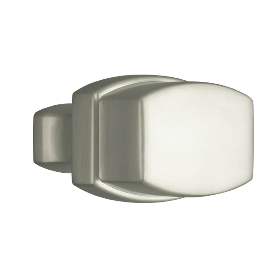 KOHLER Bancroft Vibrant Brushed Nickel Rectangular Cabinet Knob