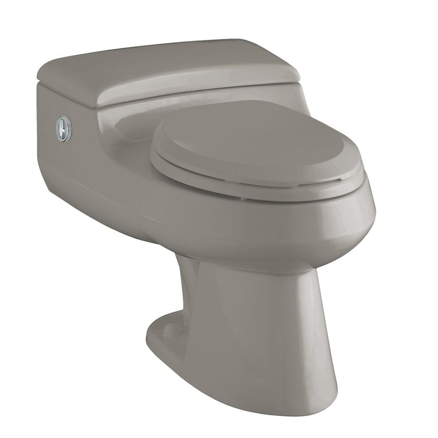 KOHLER San Raphael Cashmere 1.4; 1.0-GPF 12-in Rough-In WaterSense Elongated Pressure Assist Dual-Flush 1-Piece Comfort Height Toilet