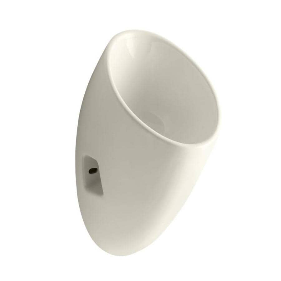 Kohler 11 In W X 23 75 In H Biscuit Wall Mounted Urinal At