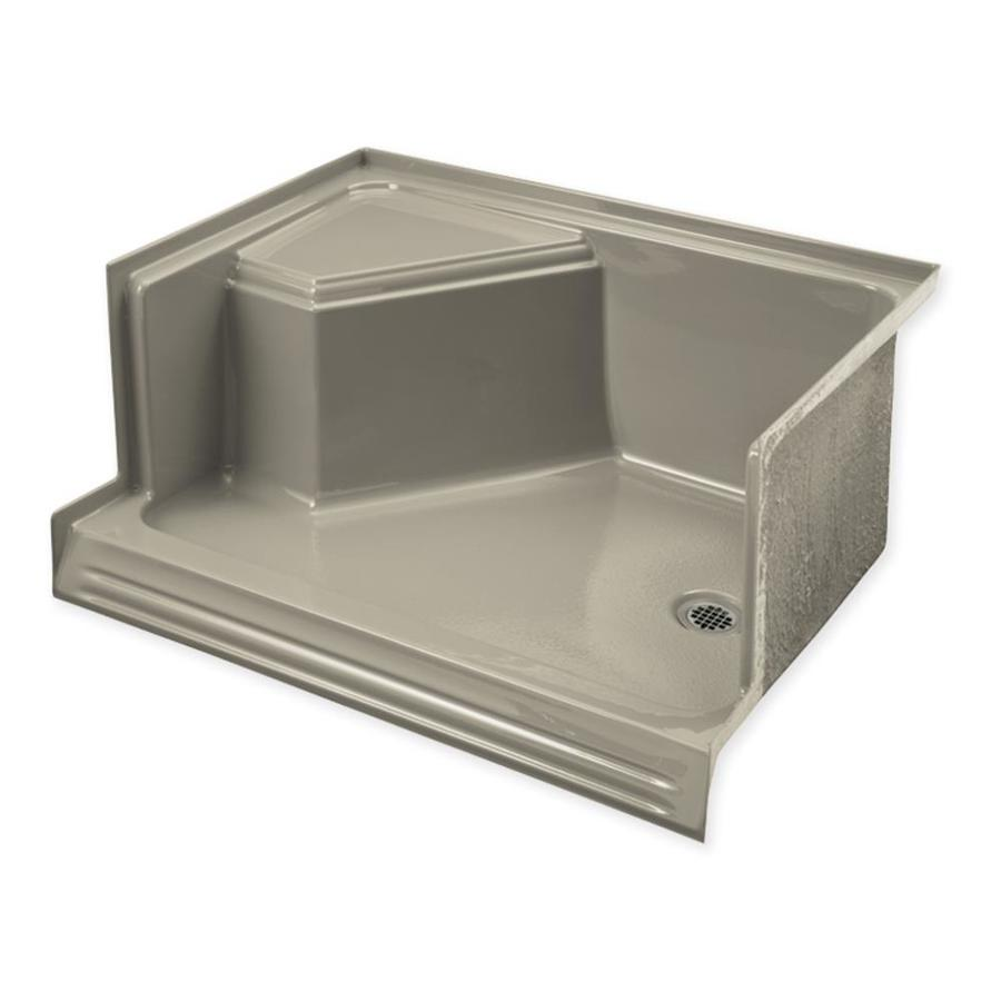 KOHLER Memoirs Sandbar Acrylic Shower Base (Common: 36 In W X 60