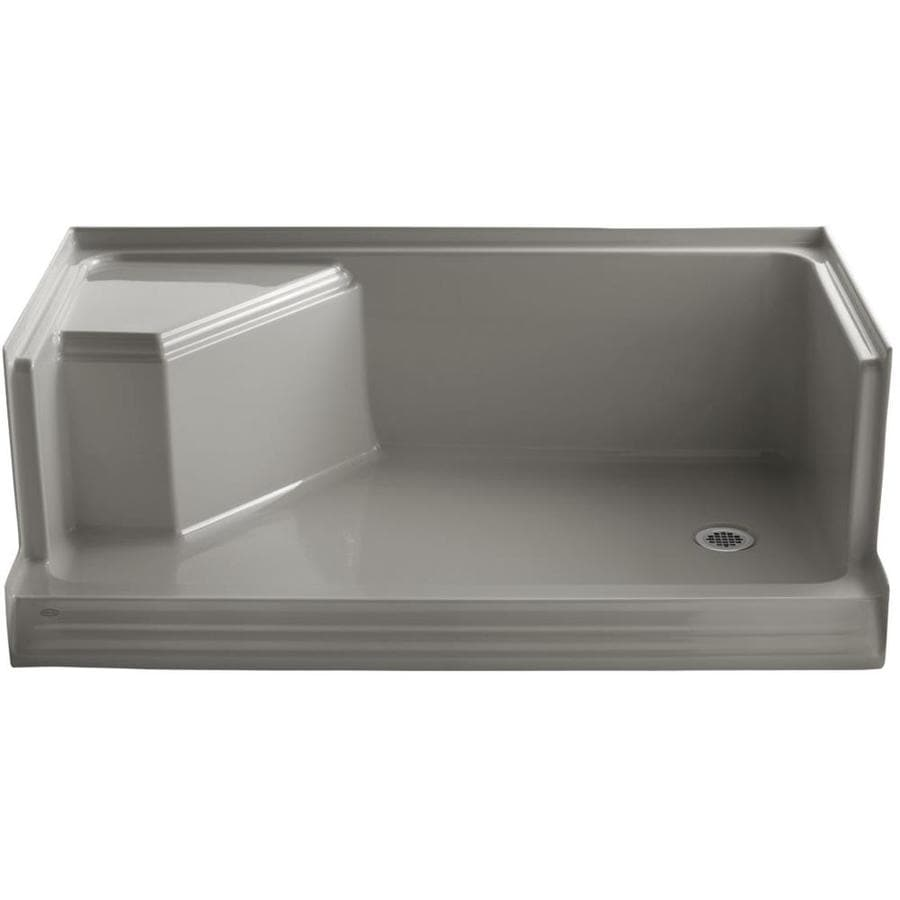 KOHLER Cashmere Solid Surface Wall Mount Shower Seat
