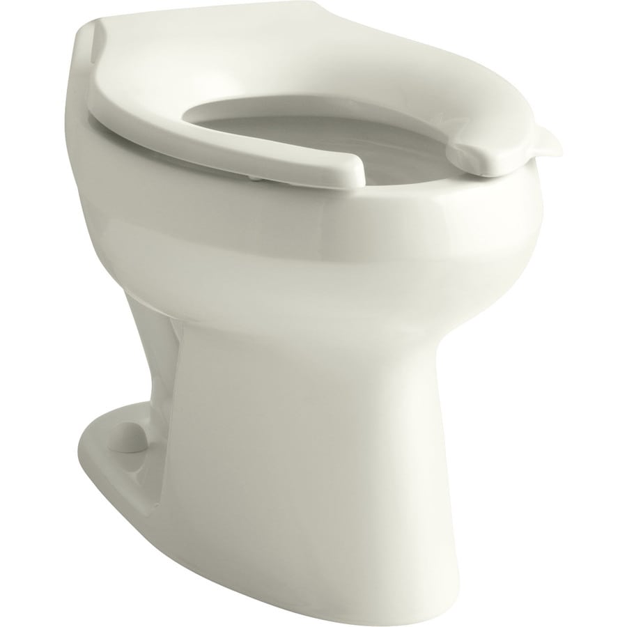 KOHLER Wellworth Biscuit Elongated Standard Height Toilet Bowl