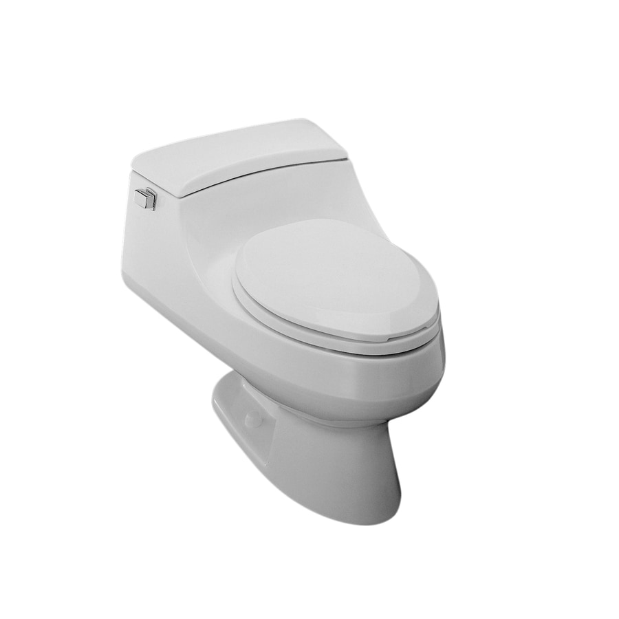 Shop Kohler San Raphael White 1 6 Gpf 6 06 Lpf 12 Rough