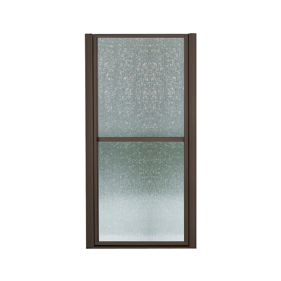 Sterling Finesse 36.5-in to 39.5-in Framed Hinged Shower Door