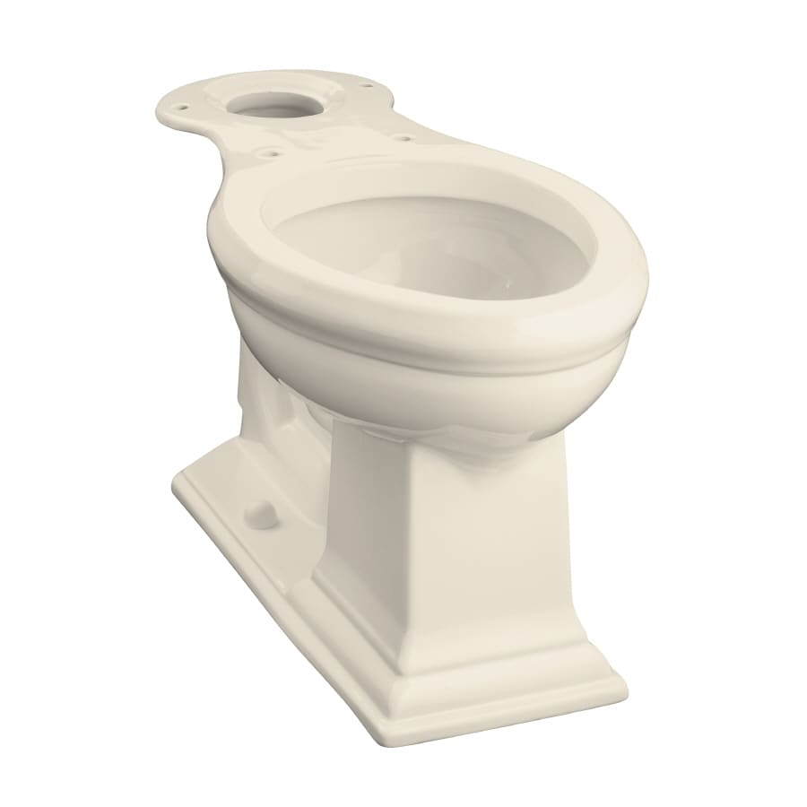 KOHLER Memoirs Chair Height Almond 12-in Rough-In Elongated Toilet Bowl