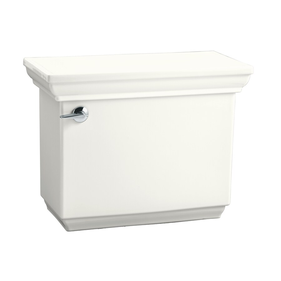KOHLER Memoirs White 1.28-GPF (4.85-LPF) 12-in Rough-In Single-Flush Toilet Tank