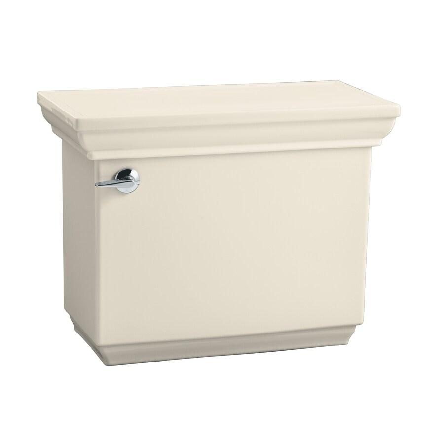 KOHLER Memoirs Almond 1.6-GPF (6.06-LPF) 12-in Rough-In Single-Flush High-Efficiency Toilet Tank