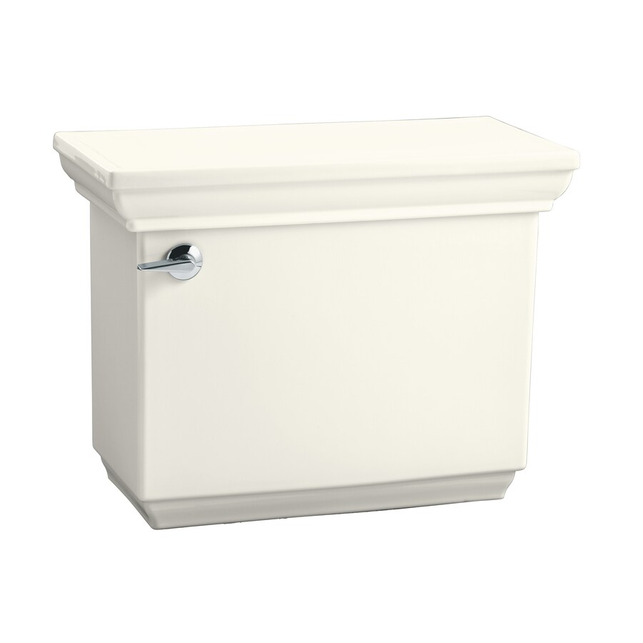 KOHLER Memoirs Biscuit 1.28-GPF (4.85-LPF) 12-in Rough-In Single-Flush Toilet Tank