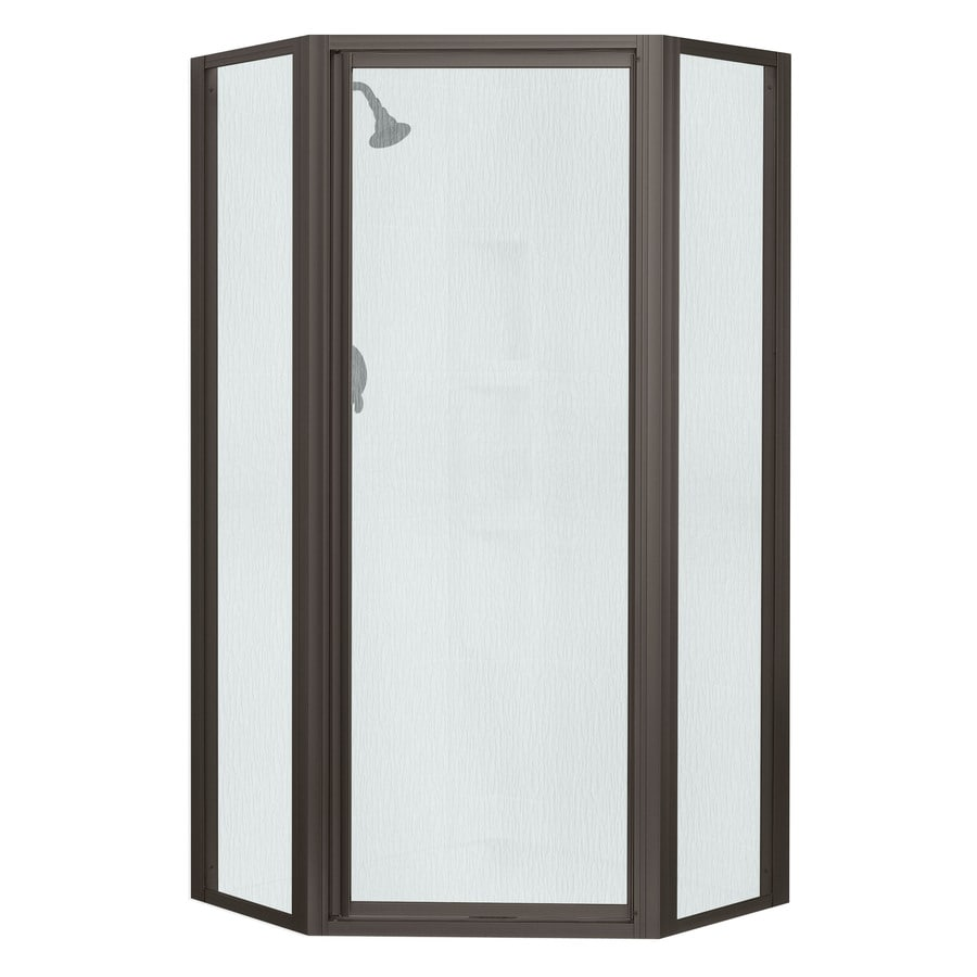 Sterling Framed Dark Bronze Shower Door