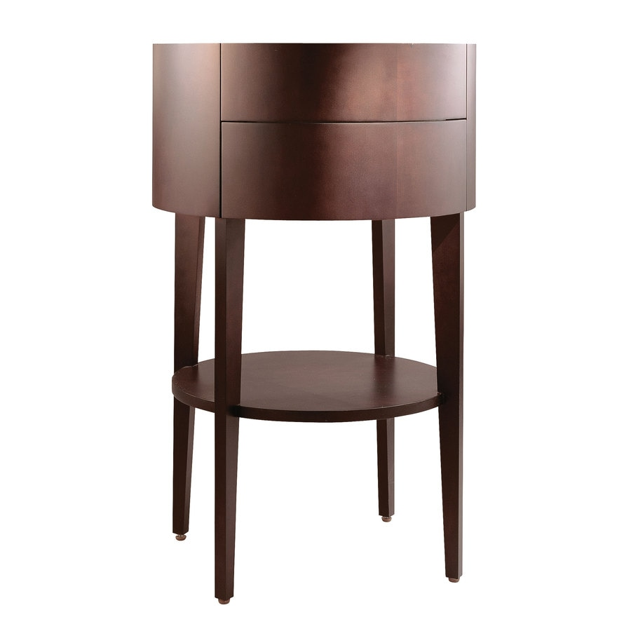 KOHLER Camber Sapele (Common: 21-in x 22-in) Contemporary Bathroom Vanity (Actual: 20.625-in x 21-in)