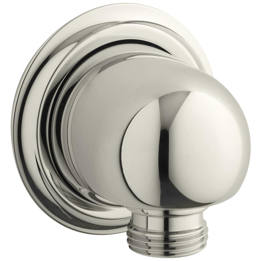 KOHLER Forte Vibrant Polished Nickel Shower Arm and Flange