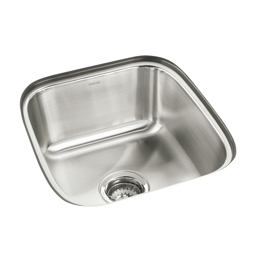Sterling Springdale Stainless Steel Undermount Commercial/Residential Prep Sink