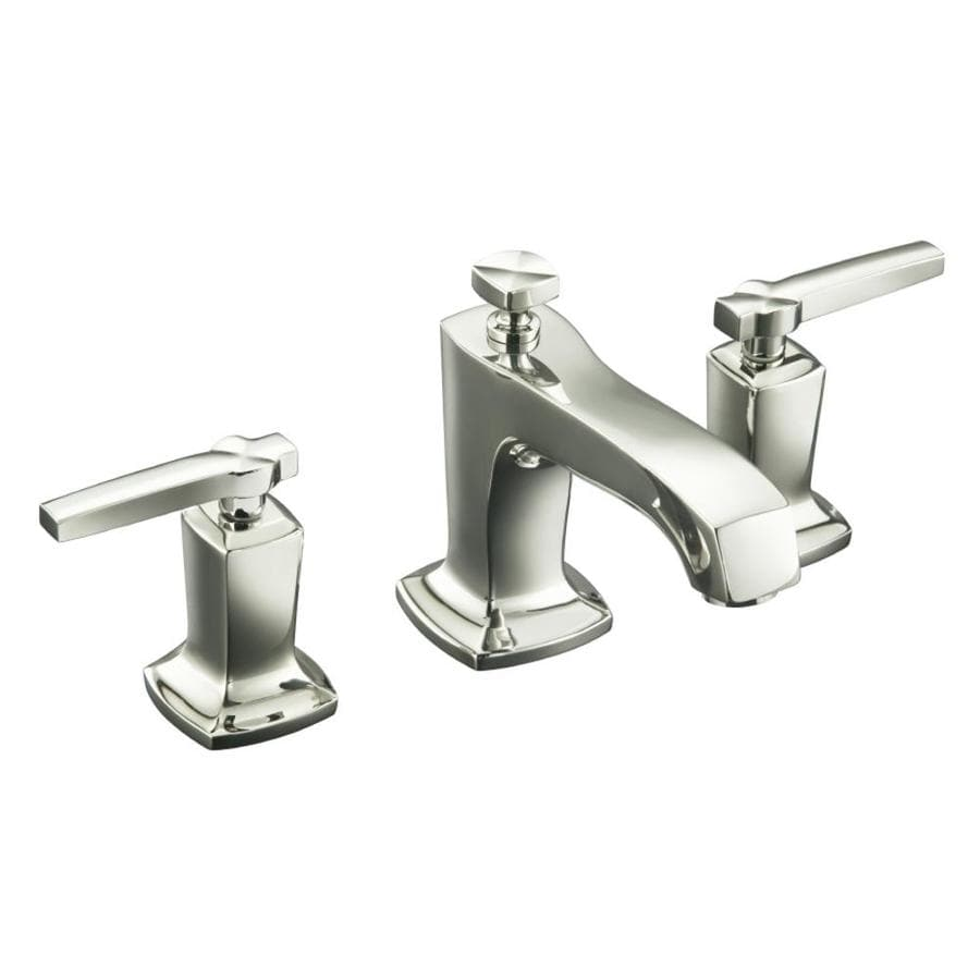 shop kohler margaux vibrant polished nickel 2 handle