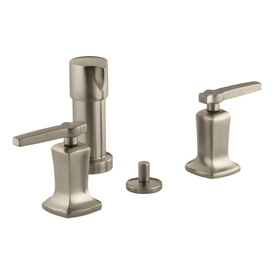 KOHLER Margaux Vibrant Brushed Bronze Vertical Spray Bidet Faucet