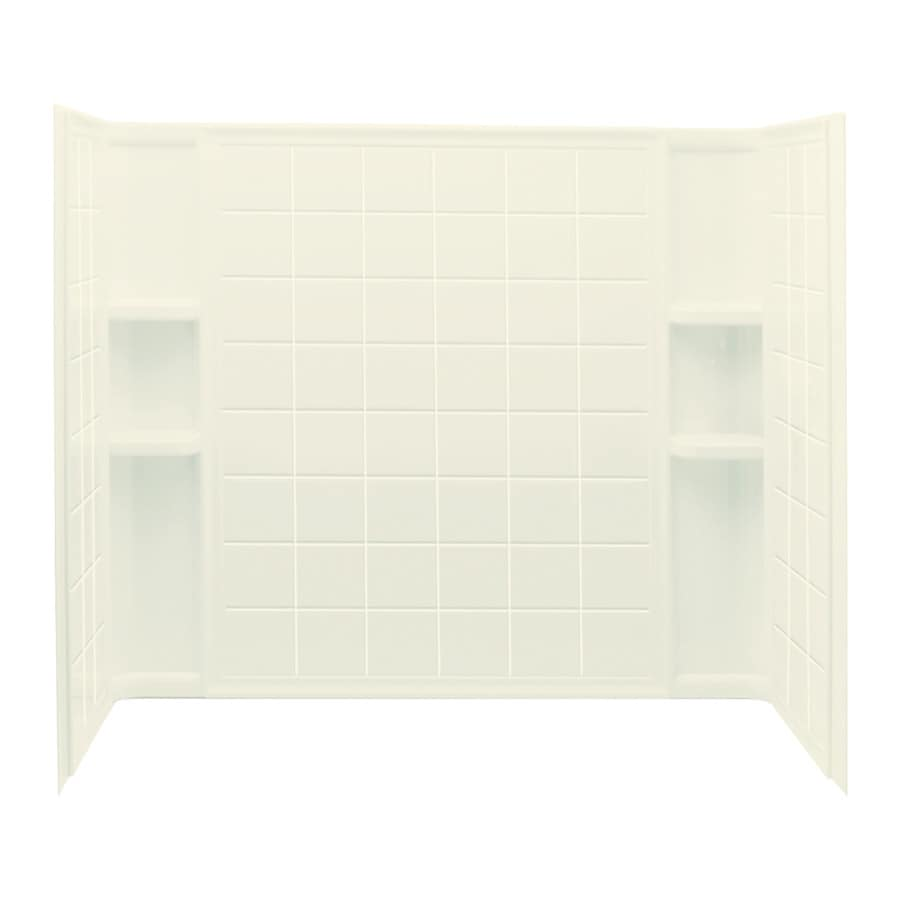 Shop Sterling Ensemble Biscuit Vikrell Bathtub Wall