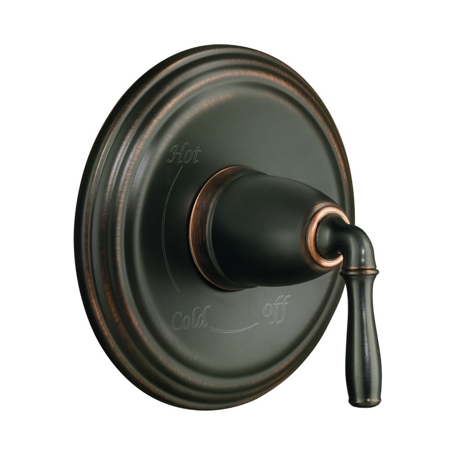 Shop KOHLER Devonshire Oil-Rubbed Bronze Single-Handle Tub and ...