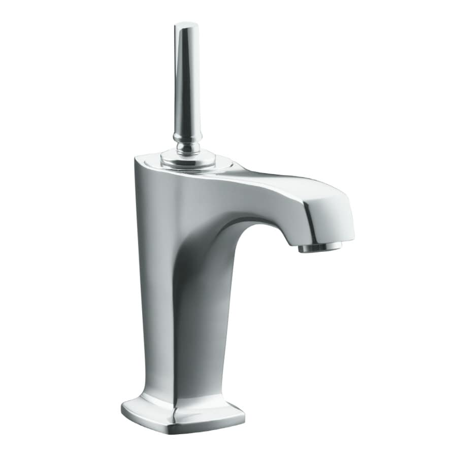 Shop Kohler Margaux Polished Chrome 1 Handle Single Hole Bathroom Sink Faucet At