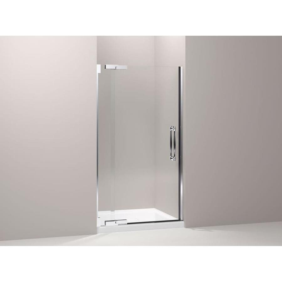 KOHLER 72-in H x 34-in W Clear Shower Glass Panel
