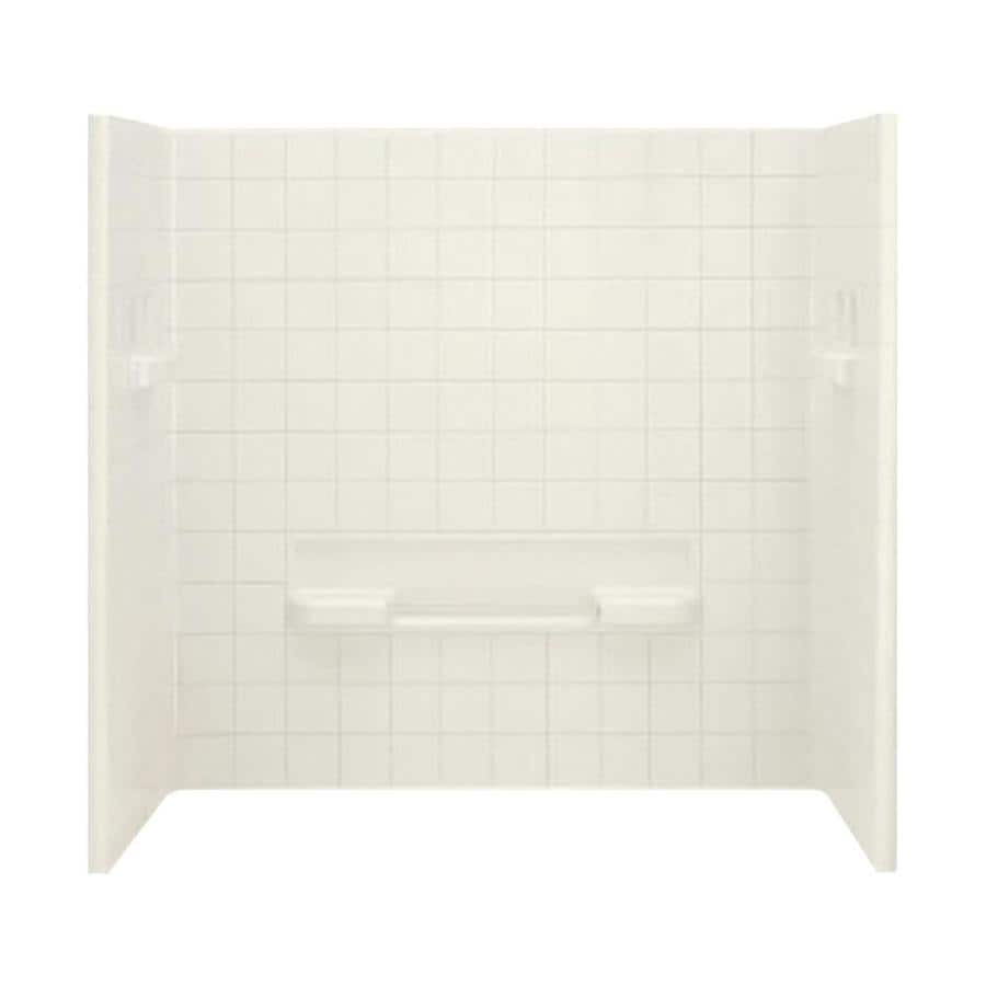 Shop Sterling All Pro Biscuit Vikrell Bathtub Wall