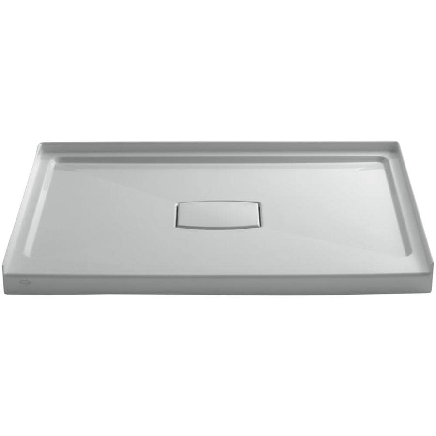 KOHLER Archer Ice Grey Acrylic Shower Base (Common: 36-in W x 48-in L; Actual: 36-in W x 48-in L)