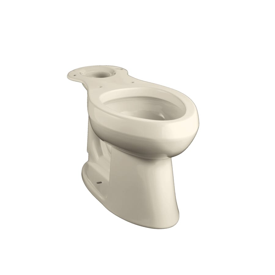KOHLER Highline Chair Height Almond 12-in Rough-In Elongated Toilet Bowl