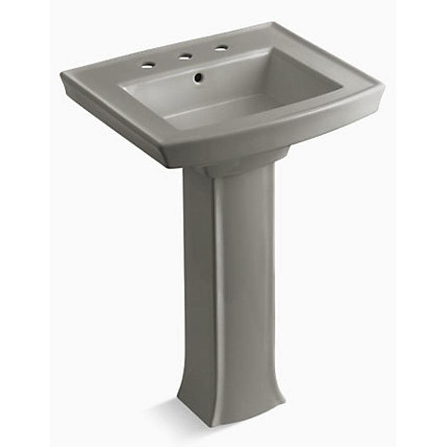 Shop Kohler Archer 35 In H Cashmere Vitreous China