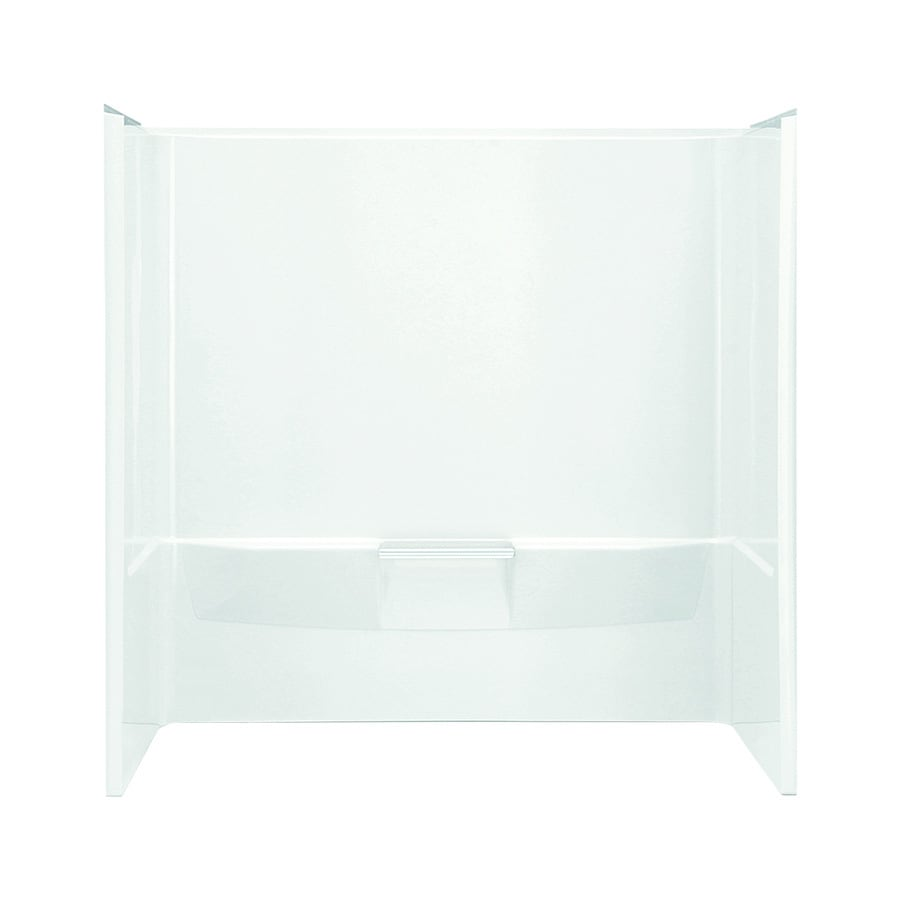 Sterling Performa White Shower Wall Surround Side And Back Wall Kit (Common: 60-in x 30-in; Actual: 60.25-in x 60-in x 30-in)