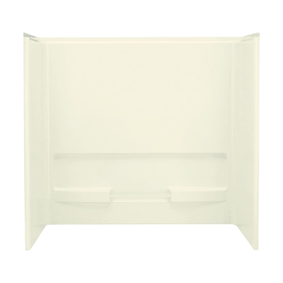 Sterling Advantage Biscuit Vikrell Bathtub Wall Surround (Common: 60-in x 30-in; Actual: 56.2500-in x 60-in x 30-in)