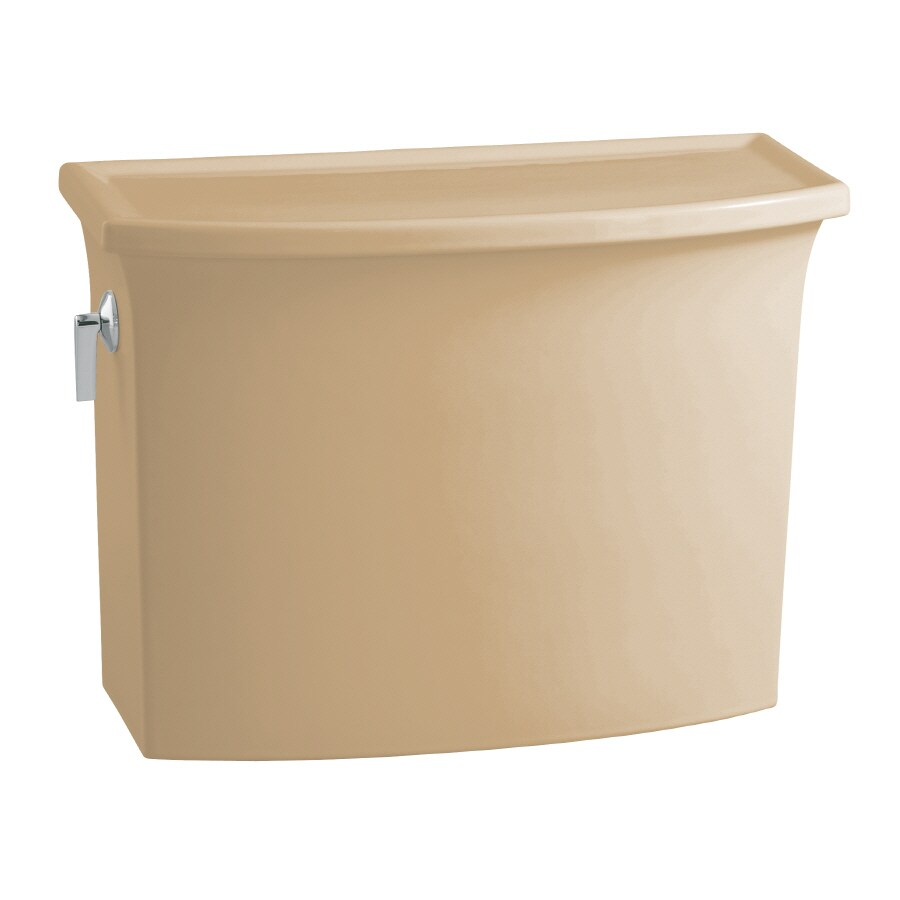 KOHLER Archer Mexican Sand  Single-Flush Toilet Tank