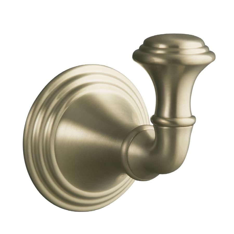 KOHLER Devonshire Vibrant Brushed Bronze Towel Hook