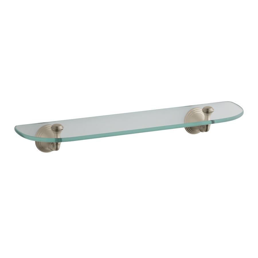 Shop kohler devonshire 1 tier vibrant brushed bronze glass for Vibrant brushed bronze bathroom lighting