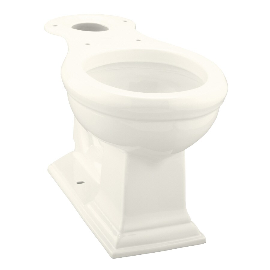 KOHLER Memoirs Chair Height Biscuit 12-in Rough-In Round Toilet Bowl