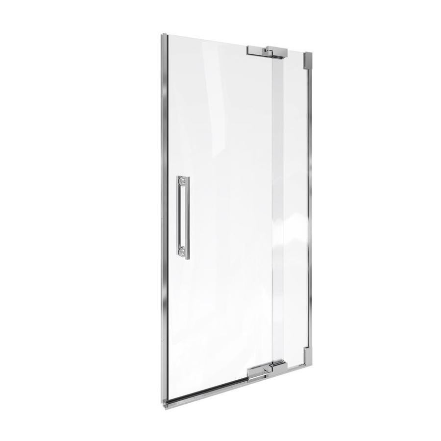KOHLER Purist 33.25-in to 35.75-in Frameless Pivot Shower Door