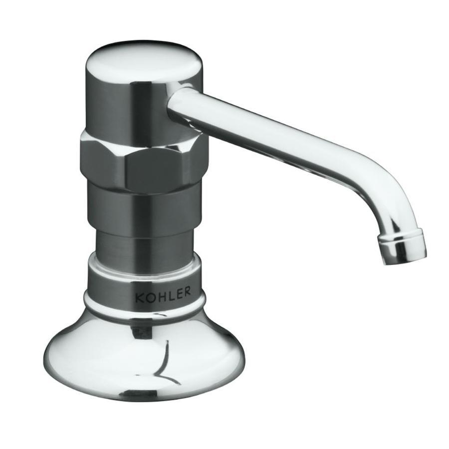 KOHLER Polished Stainless Soap and Lotion Dispenser