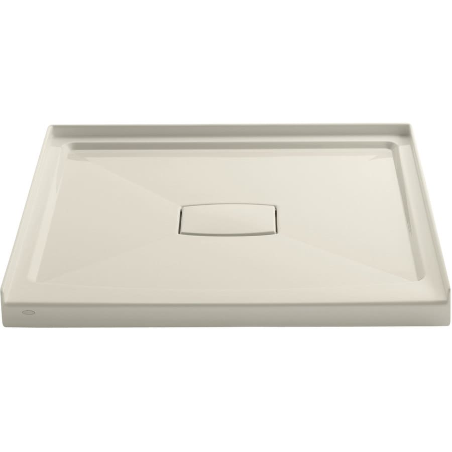 KOHLER Archer Almond Acrylic Shower Base (Common: 42-in W x 42-in L; Actual: 42-in W x 42-in L)