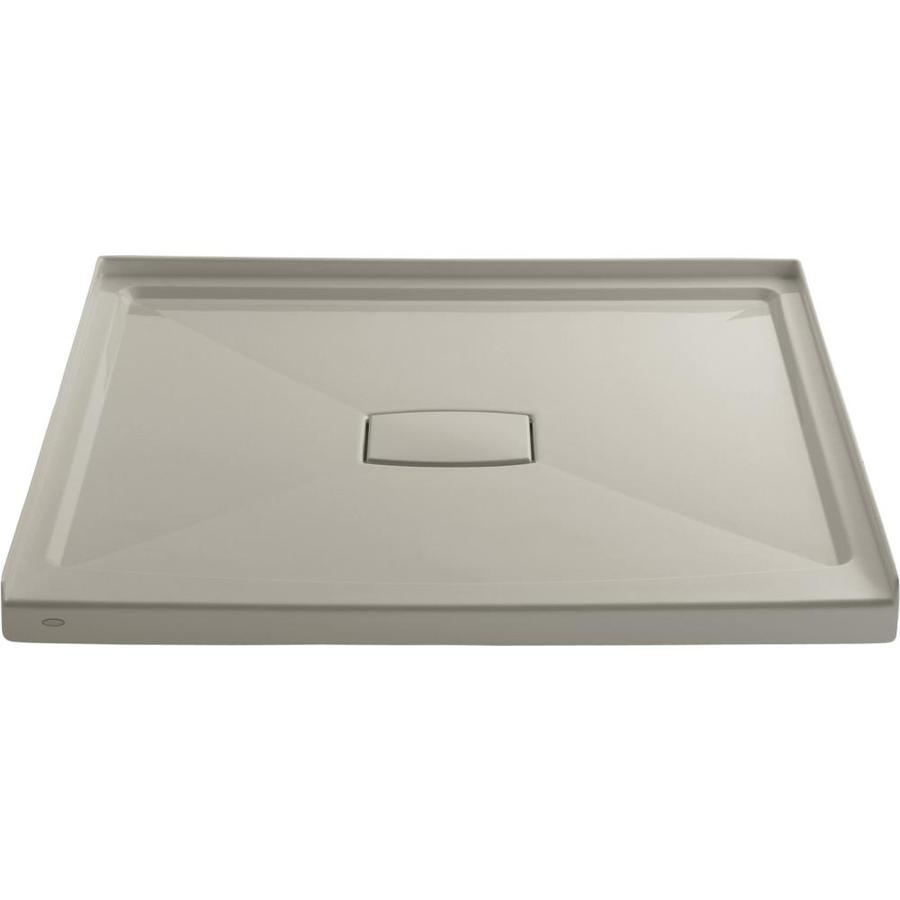 KOHLER Archer Sandbar Acrylic Shower Base (Common: 48-in W x 48-in L; Actual: 48-in W x 48-in L)