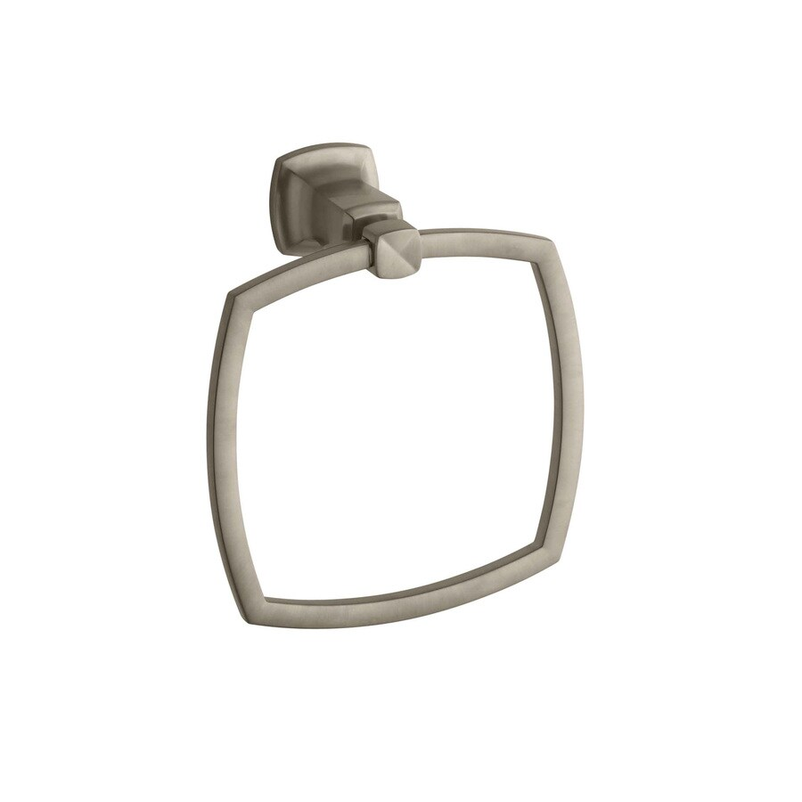KOHLER Margaux Vibrant Brushed Bronze Wall Mount Towel Ring