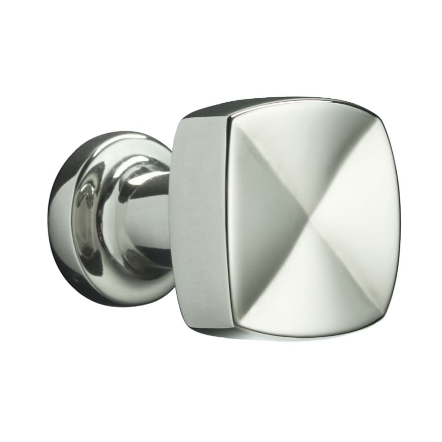 KOHLER Margaux Vibrant Polished Nickel Square Cabinet Knob