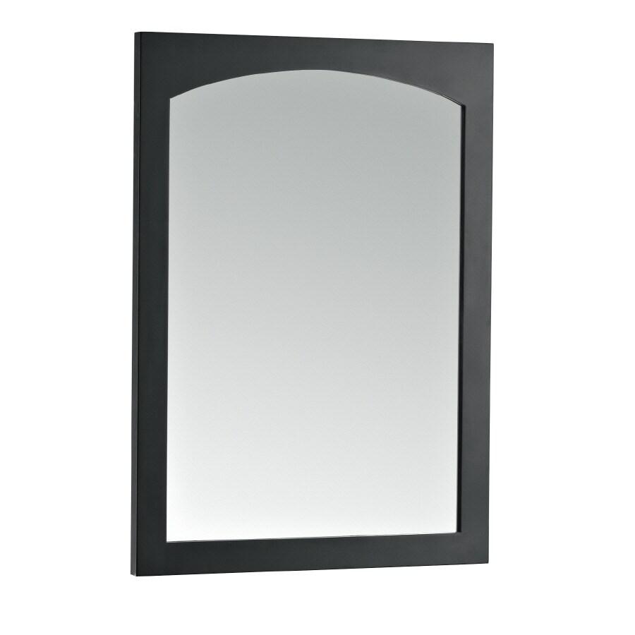 KOHLER Asberry 24-in W x 33-in H Cinder Rectangular Bathroom Mirror