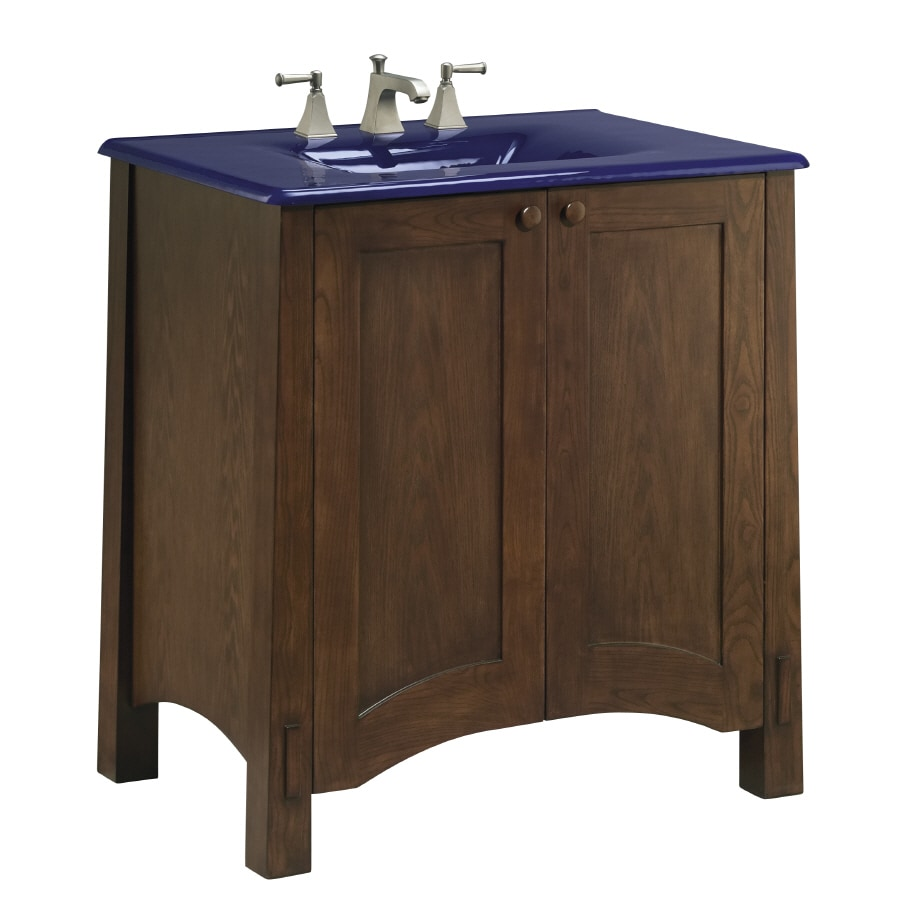 kohler bathroom vanities cabinets shop kohler westmore westwood bathroom vanity common 30 22365