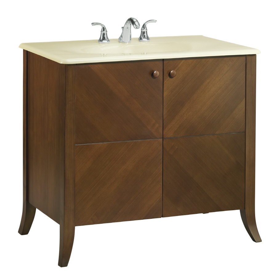 shop kohler clermont oxford 36 in transitional bathroom vanity at. Black Bedroom Furniture Sets. Home Design Ideas