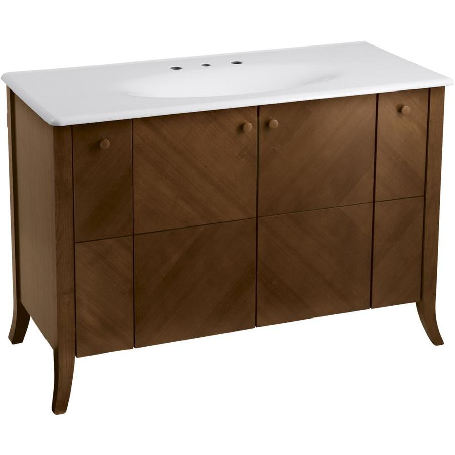 KOHLER Clermont Oxford 50-in Traditional Bathroom Vanity