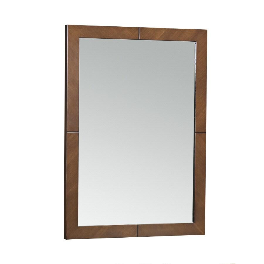 KOHLER Clermont 24-in x 33-in Oxford Rectangular Framed Bathroom Mirror