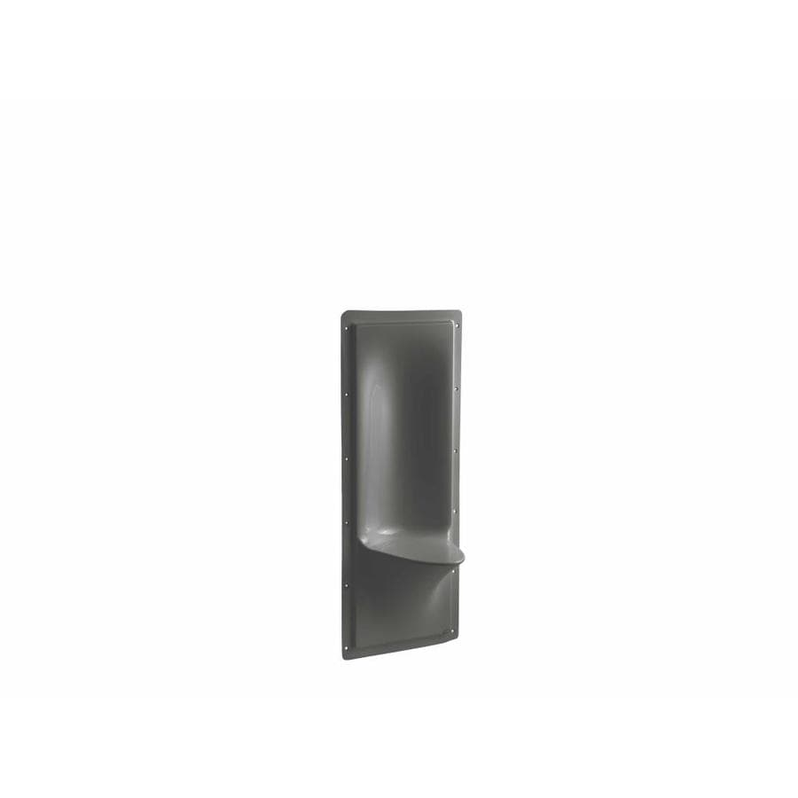 KOHLER Thunder Grey Composite Wall Mount Shower Seat