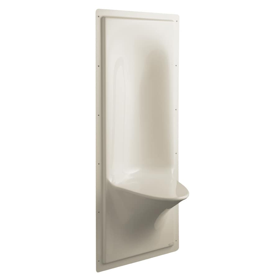 KOHLER Sandbar Plastic Wall Mount Shower Seat