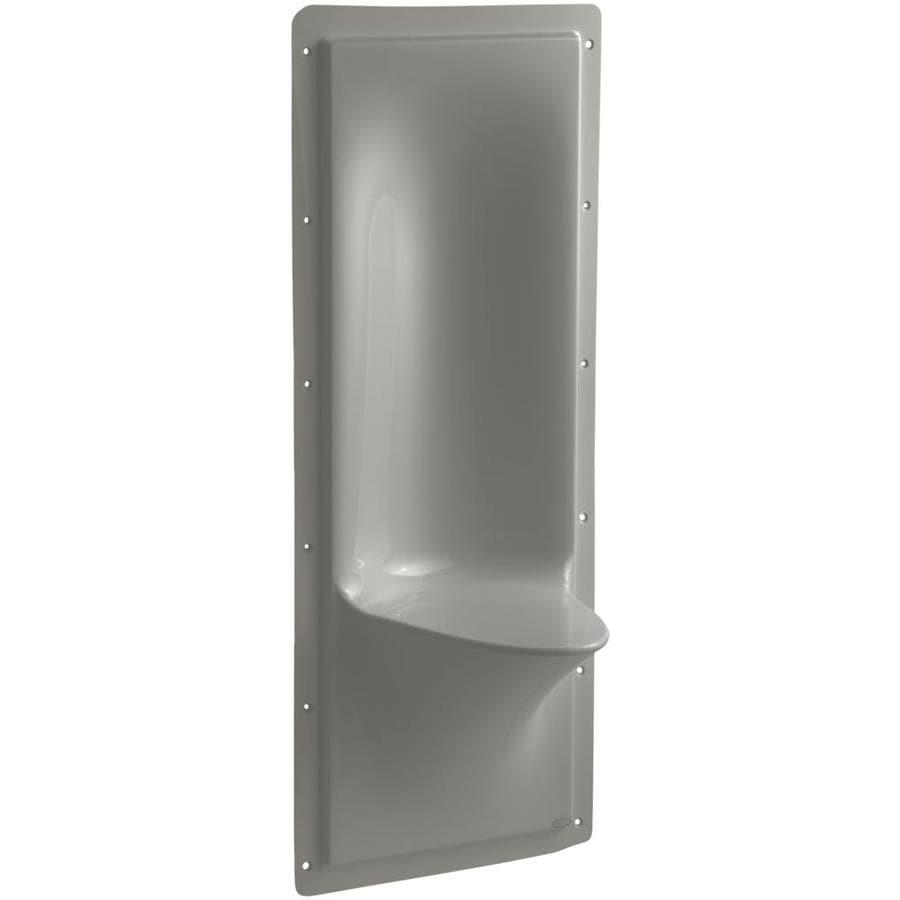 Shop KOHLER Cashmere Composite Wall Mount Shower Seat at Lowes.com