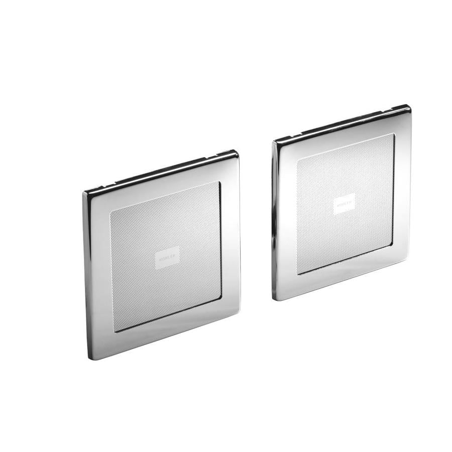 KOHLER 135-Watt 4-in Square In-Ceiling/In-Wall Speaker