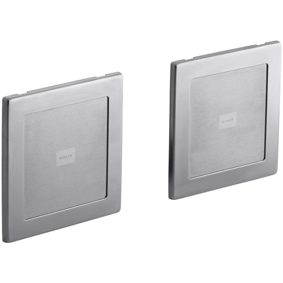 KOHLER 135-Watt 4-in Square In-Ceiling/In-Wall Speaker