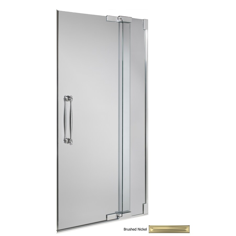 KOHLER 0-in to 0-in Frameless Pivot Shower Door